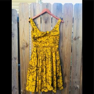 MOSCHINO YELLOW DRESS NWT